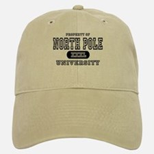 North Pole University Baseball Baseball Cap