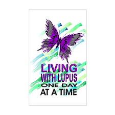 Lupus Awareness Rectangle Stickers