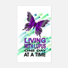 Lupus Awareness Rectangle Stickers
