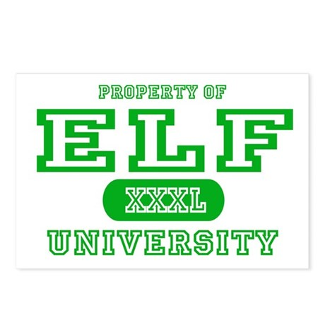 Elf University Postcards (Package of 8)