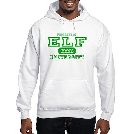 Elf University Hooded Sweatshirt