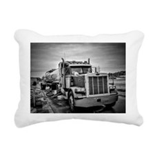 Big Red On The Job Rectangular Canvas Pillow