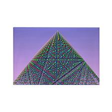 Molecular model - Rectangle Magnet (100 pk)