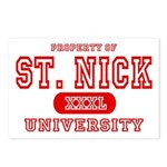St. Nick University Postcards (Package of 8)