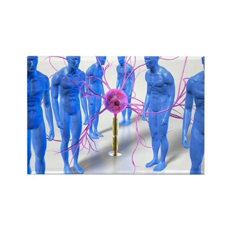 onceptual artwork - Rectangle Magnet (100 pk)