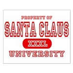 Santa Claus University Small Poster