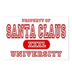 Santa Claus University Postcards (Package of 8)