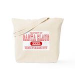 Santa Claus University Tote Bag