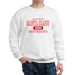Santa Claus University Sweatshirt