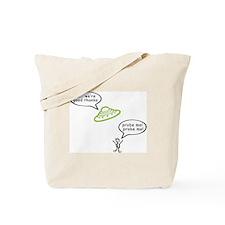 Alien Probe Tote Bag