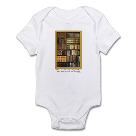 Erasmus Quote Infant Bodysuit