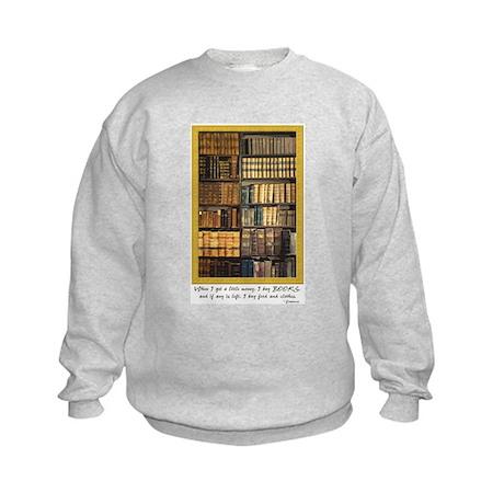 Erasmus Quote Kids Sweatshirt