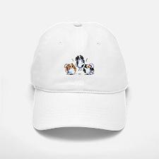 Parti Pomeranians Baseball Baseball Baseball Cap