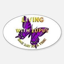 Lupus Awareness Oval Decal