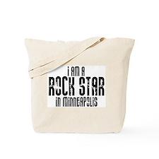 Rock Star In Minneapolis Tote Bag