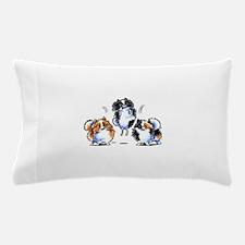 Parti Pomeranians Pillow Case