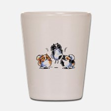 Parti Pomeranians Shot Glass