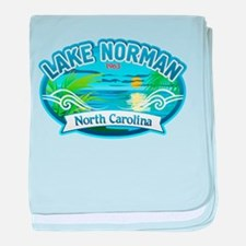 Lake Norman Waterview baby blanket