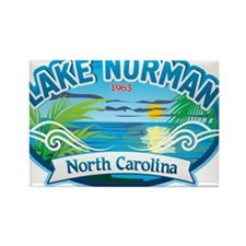 Lake Norman Waterview Rectangle Magnet