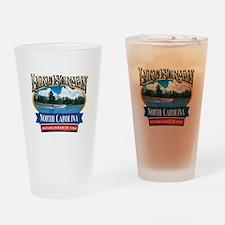 Lake Norman Waterfront Logo Drinking Glass