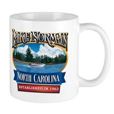 Lake Norman Waterfront Logo Small Mug
