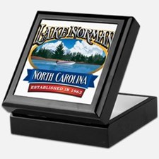 Lake Norman Waterfront Logo Keepsake Box