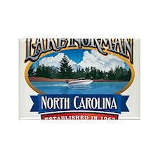 Lake Norman Waterfront Logo Rectangle Magnet