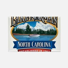 Lake Norman Waterfront Logo Rectangle Magnet