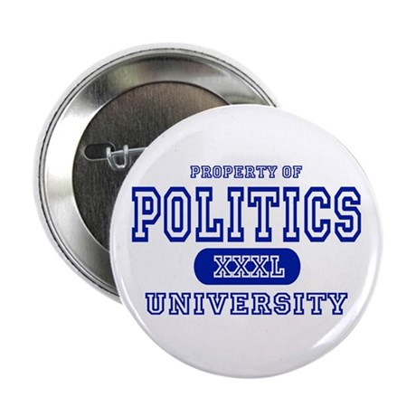 Politics University Button