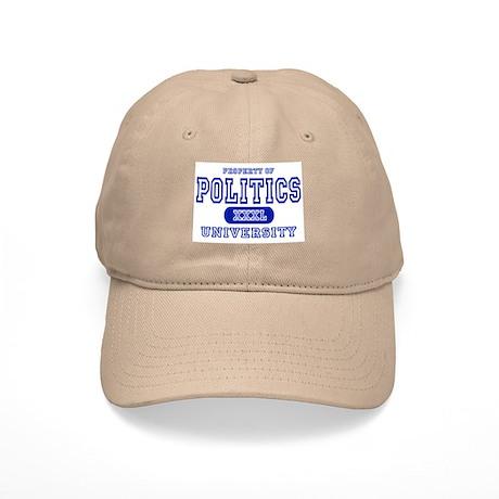 Politics University Cap