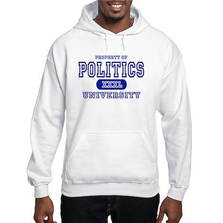 Politics University Hooded Sweatshirt