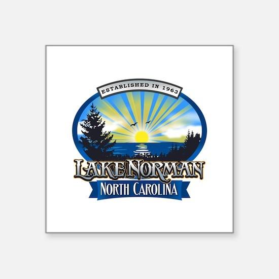 Lake Norman Sun Rays Logo Sticker