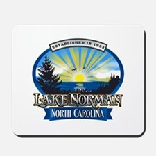 Lake Norman Sun Rays Logo Mousepad