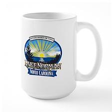 Lake Norman Sun Rays Logo Mug