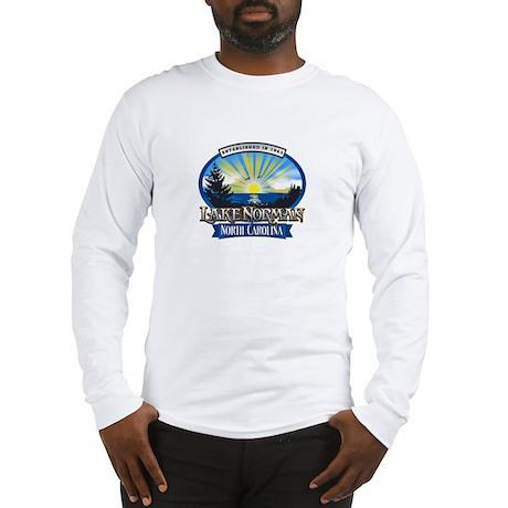Lake Norman Sun Rays Logo Long Sleeve T-Shirt
