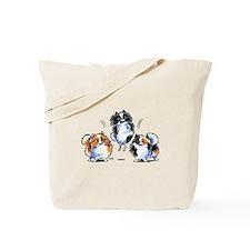 Parti Pomeranians Tote Bag