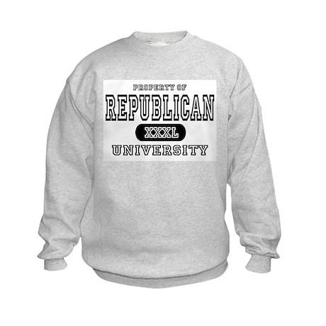 Republican University Kids Sweatshirt