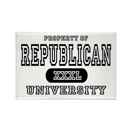Republican University Rectangle Magnet (10 pack)