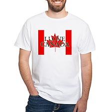 CANADA SHIRTS, I LOVE CANADA Shirt