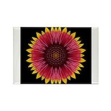 Cute Artwork buddhist Rectangle Magnet