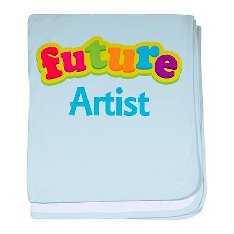 Future Artist baby blanket