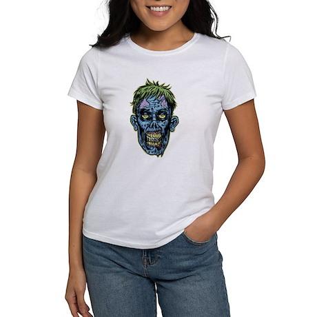 BLUE ZOMBIE HEAD T-Shirt