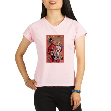 SATAN DEMONA Peformance Dry T-Shirt