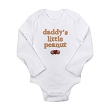 Daddy's Little Peanut Infant Creeper Body Suit