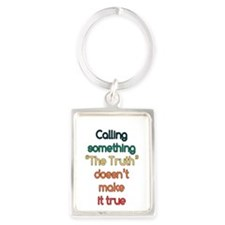 The Truth Portrait Keychain