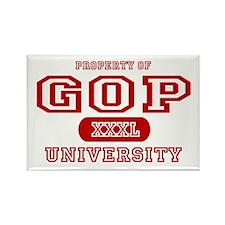 GOP University Rectangle Magnet