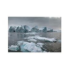 Icebergs - Rectangle Magnet (100 pk)