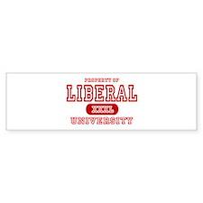 Liberal University Bumper Bumper Sticker