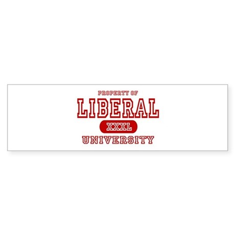 Liberal University Bumper Sticker