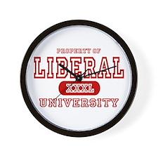Liberal University Wall Clock